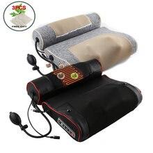 Oreiller de Massage électrique pour Relaxation du cou, Moxibustion, chauffage du dos, pétrissage, thérapie infrarouge, masseur shiatsu