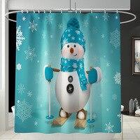 1pcs Shower Curtain 8