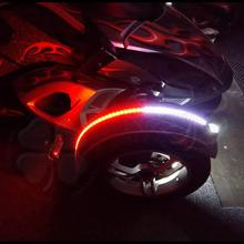 2x Dual Color LED flex Fender Channel Strip Red White Can Am Spyder f3s ryker dual color 3528 led strip Light