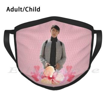 Crash Landing On You-Swiss Hyeok Funny Print Reusable Warm Scarf Mask Crash Landing On You Cloy Hyun Bin Son Ye Jin image