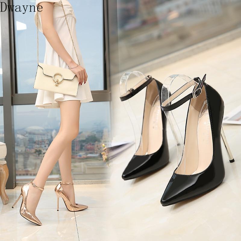 13cm Super High-Heel Model Catwalk High Heels Sexy Large Size Women's Shoes Fashion Single Shoes Temperament Thin Heels Pumps 44