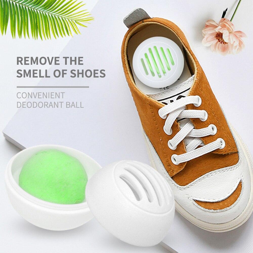 10pcs Deodorizer Balls Sneaker Perfume Freshener Balls For Shoes Leather Bag Locker Cars Deodorizer Neutralizing Air