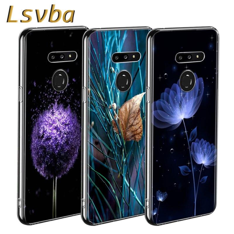 Amazing Flowers Style For LG W20 W10 V50S V50 V40 V30 K50S K40S K30 K20 Q60 Q8 Q7 Q6 G8 G7 G6 Thinq Phone Case