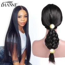 HANNE Hair Brazilian Human Hair Wigs Glueless Lace Front Rem