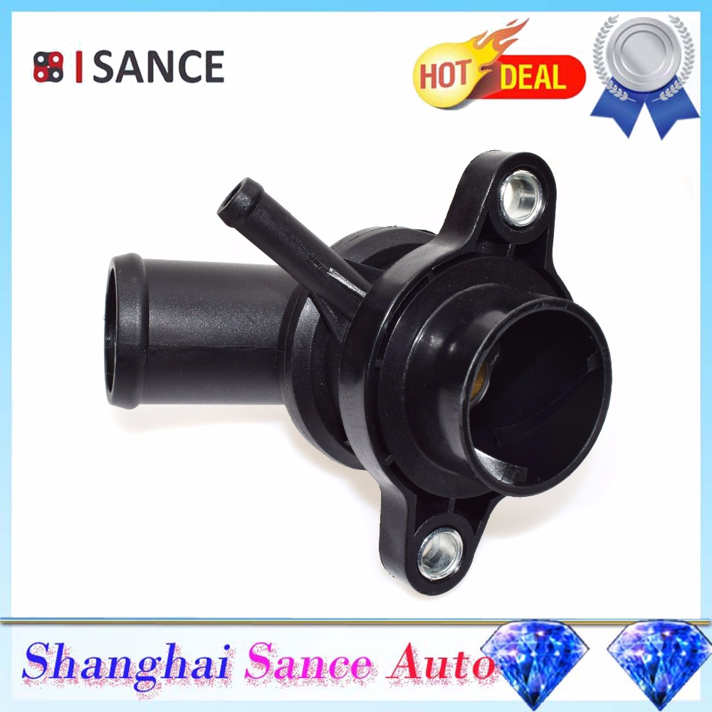 For Mini Cooper 2002 2003 2004 2005-2008 Genuine Thermostat Housing and Cap