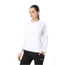 Jeansian Womens UPF50 + UV Outdoor Sport Tee Shirt T-Shirt Tshirt Long Sleeve Beach Summer SWT246 White2