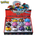 12 Pcs/Set Pocket Monster Pikachu Action Figure Pokemon Game Poke Ball Model Charmander Anime Figure Dolls Toy For Children Gift
