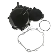Motorcycle Aluminum Left Crank Case Cover Engine Stator For Suzuki GSXR 600 GSX-R 750 2006-2019 2018 2017 стоимость