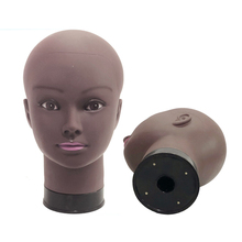 Afro Female Mannequin Head Wigs Display Cap Hat In Mannequins Beauty Makeup Massage Dummy Model Doll Free Tpins