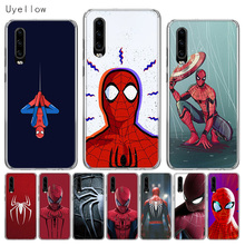 Uyellow Silicone Soft Phone Case For Huawei P10 P20 P30 Lite Pro Hawei Mate 10 20 lite P Smart Plus 2019 Red Spiderman