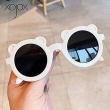 Kids Sunglasses Girls Vintage Children Fashion Bear Xojox Decorative Visor Colorful Boys