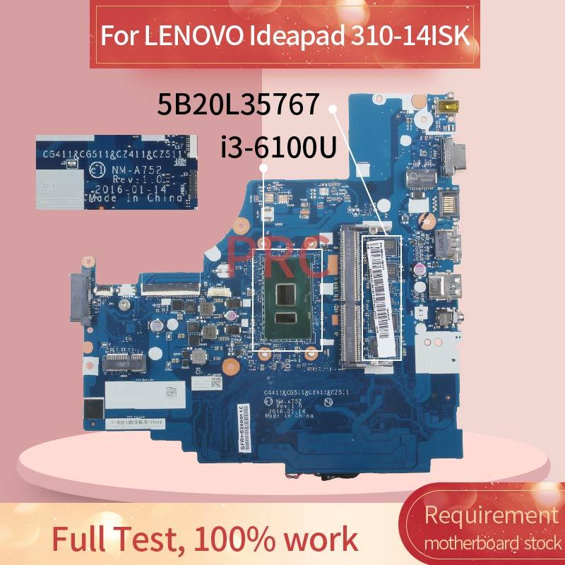5B20L35767 For LENOVO Ideapad 310-14ISK i3-6100U