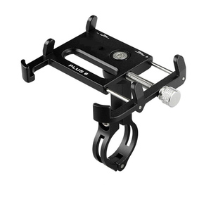 Image 3 - MTB Bicycle Motorcycle Phone Holder For iPhone X XS 11Pro support telephone moto aluminium Holder For GPS Bike Handlebar Holder