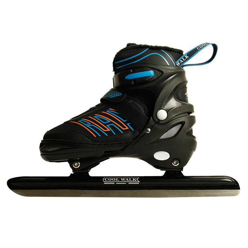 Winter Adult  Professional Thermal Thicken Can Adjust Ice Speed Skates Shoes  Speed Skating Warm Comfortable Beginner
