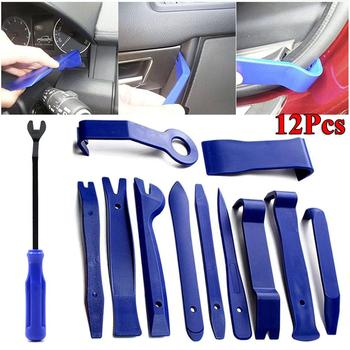 12pcs Car Trim Disassembly Tools DVD Stereo Refit Kits Interior Plastic Trim Panel Dashboard Installation Removal Repair Tools image