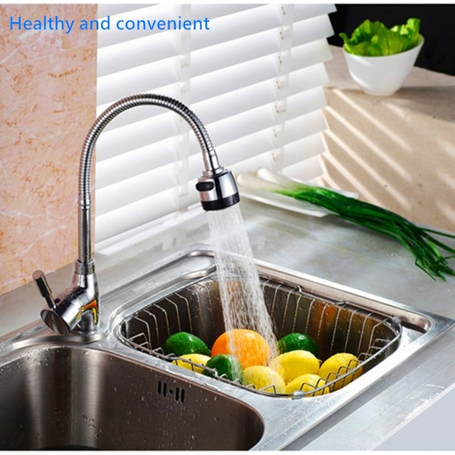 New Kitchen Shower Faucet Tap 3 Level Can Adjusting 360 Rotate Water Saving Bathroom Shower Faucet filtered Faucet Accessories 2