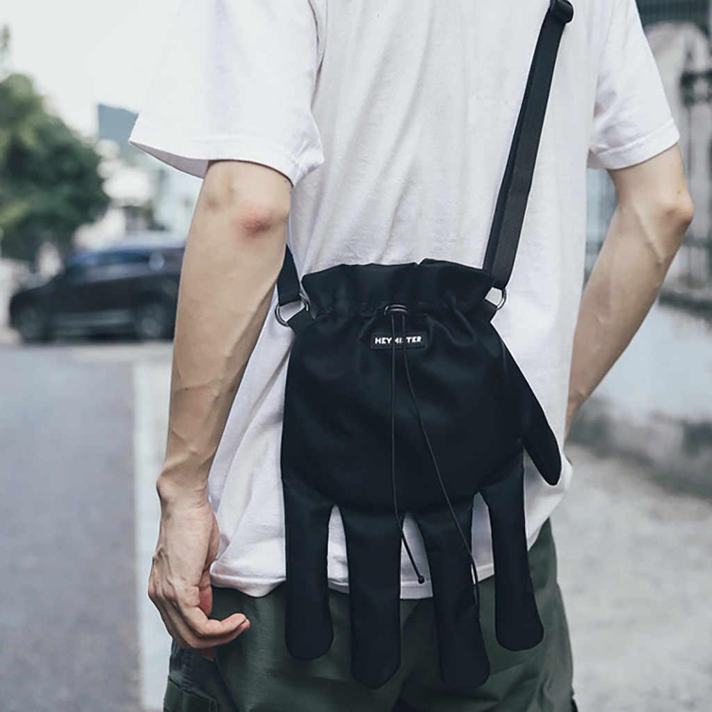 Sacos de crossbody para mulheres moda feminina náilon casal personalidade moeda bolsa ombro mensageiro sacos casuais bolsa feminina