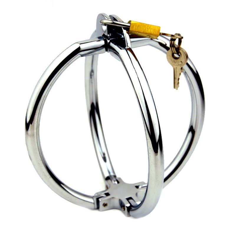Cross Metal Handcuffs BDSM Bondage Adult Games Sex Toys For Couples Slave Restraints Hand Cuffs Fetish Sex Tools For Sale