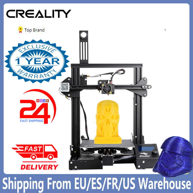 Ender 3 Pro 3D Printer Diy Kit 3D Printer Grote Maat Mini Hervatten Stroomuitval Printer Ender 3 Impresora 3D