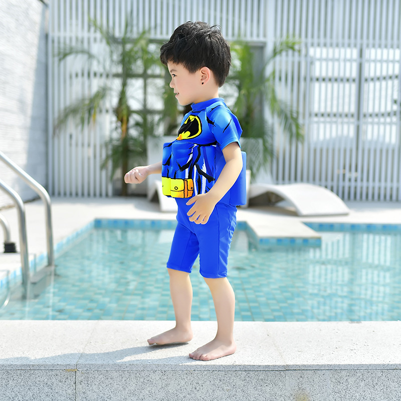 CHILDREN'S Buoyancy Swimsuit GIRL'S Girls BABY'S Bathing Suit Baby CHILDREN'S BOY'S One-piece Floating Bathing Suit Swimwear