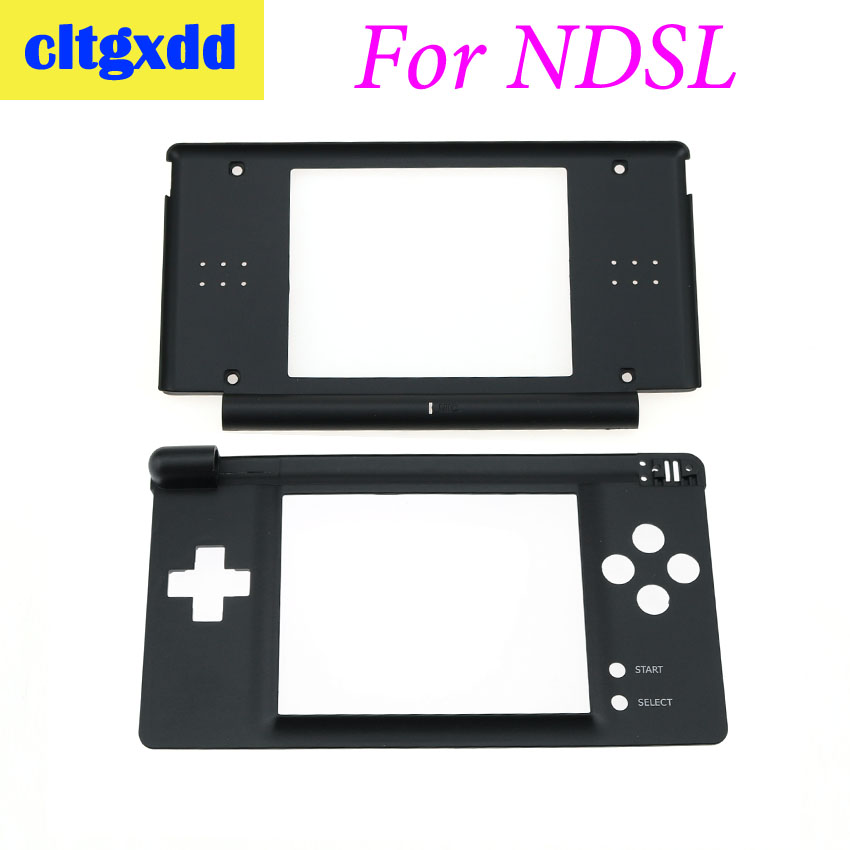 cltgxdd Black Plastic Top Upper / Lower LCD Screen Frame For N D S L Game DS Lite Console Display Screen Housing Shell Replaceme(China)