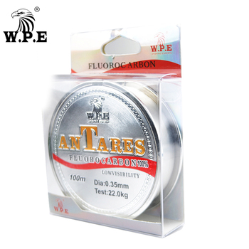 W.P.E Brand New ANTEROS Fishing Line 0.20mm-0.60mm Fluorocarbon Coated Fishing Line 100m 10KG-41KG Carbon Fiber for Carp Fishing new line cosmetics