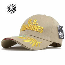 HAN WILD Camping Marines Hats US Tactical Baseball Cap Adjustable Casual Mens Army Caps Letter Marines Gorras De Beisbol mens navy seal camo baseball caps green berets soldier tactical hats army sniper camouflage caps gorras spring summer