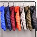 Мужской всесезонный ультралегкий пуховик, водонепроницаемая и ветрозащитная дышащая куртка, большие размеры, мужские толстовки, куртки