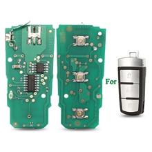 Bilchave 10Pcs สำหรับโฟล์คสวาเก้น Passat B6 3C B7 Magotan CC FOB โคมไฟรีโมทกุญแจรถ Circuit Board 433Mhz ID48ชิป3C0959752BA