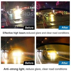 Image 4 - Aluminium Magnesium Meekleurende Zonnebril Heren Gepolariseerde Dag Nachtzicht Mannen Oculos Driver Geel Mannelijke Rijden Bril Gafas