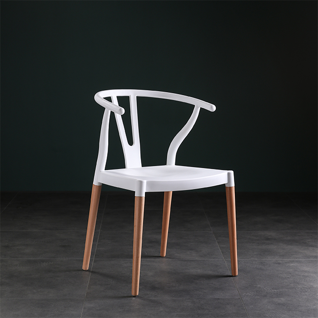Nordic Creative Designer Chair New Chinese Backrest Chair Chair Chair Horn Chair Solid Wood Dining Chair  Chair