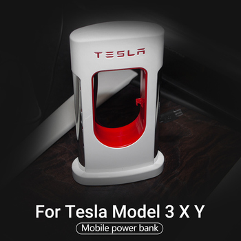 For Tesla Model 3 type quick charging mobile phone universal mobile power model three accessories car charging Model Y Model X