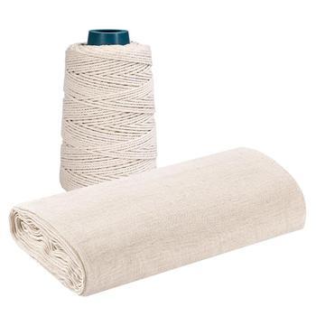 BESTONZON zestaw gazy masło ser tkaniny liny konopne ser akcesoria do rękodzieła na rzemiosło do kuchni domu tanie i dobre opinie Ser ubrania Cheese Cloth Other Ekologiczne Na stanie