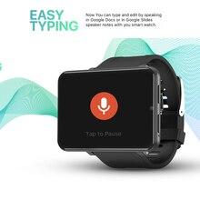 Смарт часы DM100 4G GPS MTK6739 четырехъядерный процессор 2,86 дюйма сенсорный экран 32 Гб ПЗУ Android 7,1 Смарт часы с пульсометром смарт браслет