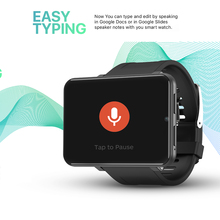 """DM100 4Gสมาร์ทนาฬิกาGPS MTK6739 Quad Core 2.86 """"Touch Screen 32GB ROM Android 7.1 Smartwatch Heartสมาร์ทBand"""
