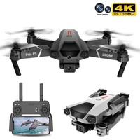 2021 nuovo P5 Drone 4K doppia fotocamera fotografia aerea professionale evitamento degli ostacoli a infrarossi Quadcopter RC elicottero giocattolo per bambini