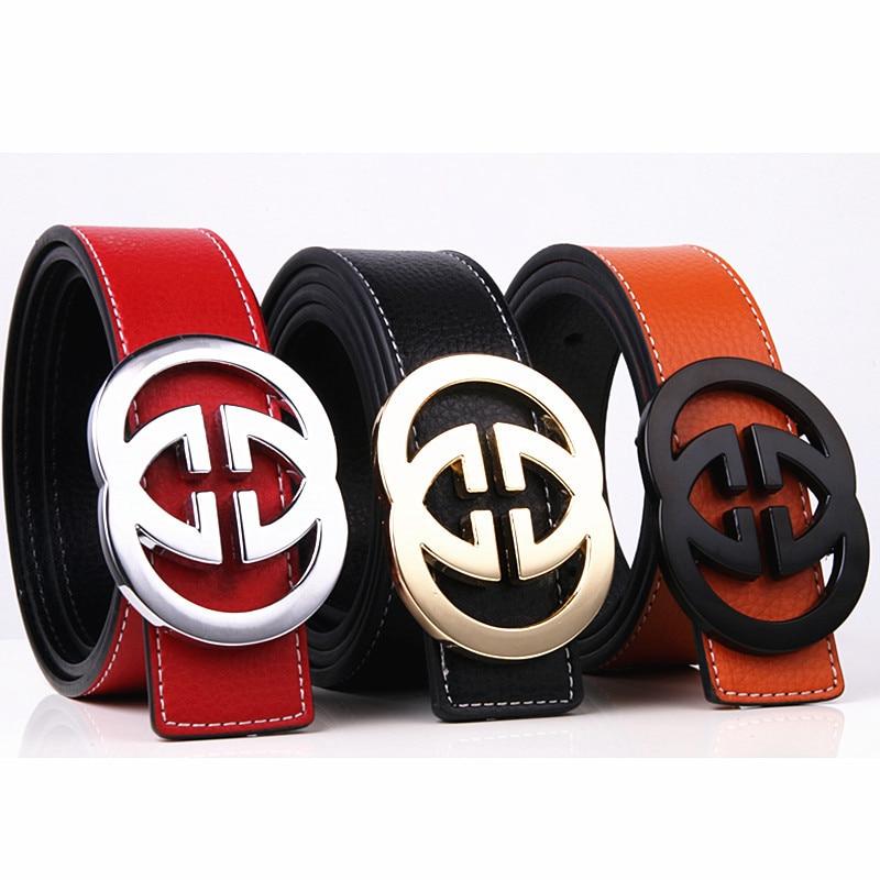 CDF Designer   Belts   for Men Women 2019 Famous Brand Luxury Smooth Buckle Cowskin Genuine Split Leather Waist   Belt   for Jeans Kemer