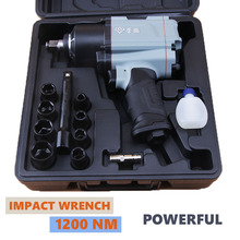 1200 NM Impact Pneumatic Wrench,Professional Auto Repair Pneumatic Tools,Spanners Air
