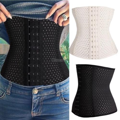 Women Slimming Waist Shapewear Trainer Cincher Underbust Corset Belt Shapewear Slim Body Breathable Plus Size After Pregance