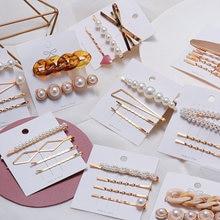 Korea Stil Mode Perle Haar clip für Frauen Romantische Weibliche Schmuck Haarnadel 2021 Zubehör Haar Stick Barrettes Großhandel