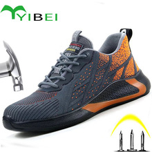 Work-Boots Safety-Shoes Indestructible Men's Fashion New And Impact Light Stab-Proof