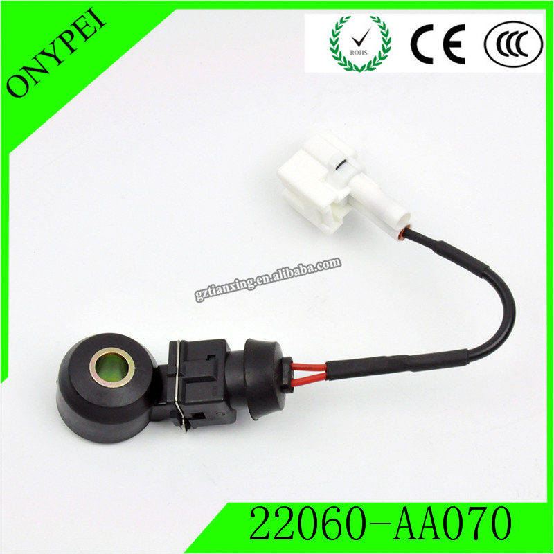 22060-AA070 Engine Ignition Detonation Knock Sensor For 99-02 <font><b>Subaru</b></font> Forester Impreza Legacy Outback 2.5L <font><b>22060AA070</b></font> image