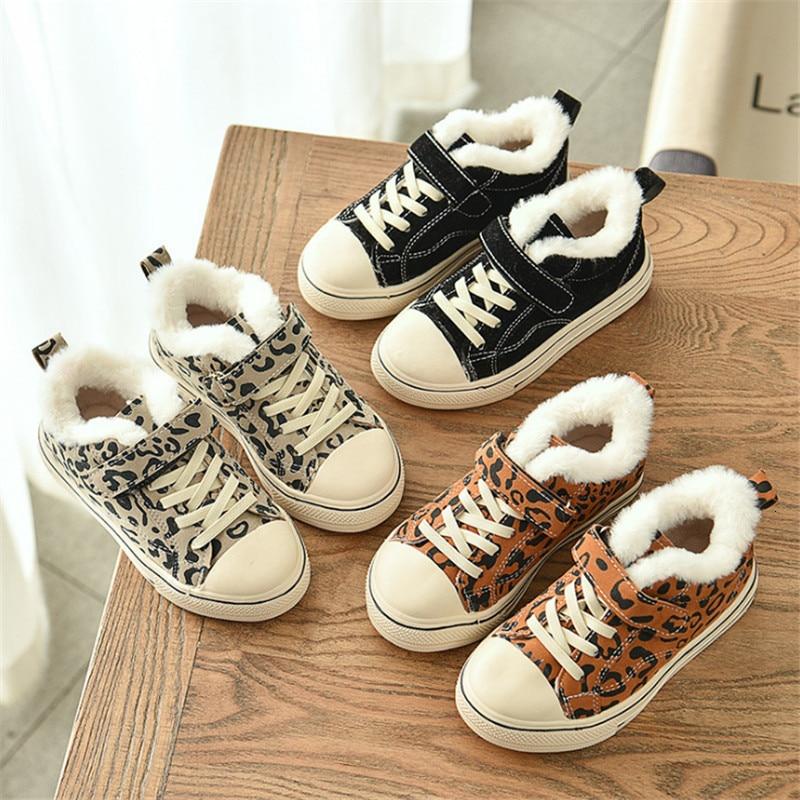 Winter Child Kid Girl Boy Snow Boots Comfort Thick Short New Antislip Fashion