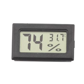 GALINER czarny cygaro Humidor higrometr czujnik temperatury miernik wilgotności cyfrowy higrometr cygaro do szafki Humidor tanie i dobre opinie CN (pochodzenie) HA-41 Plastic 50*30*15mm Simple Package