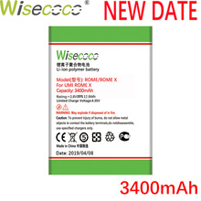 Wisecoco Umi Rome 3400mAh New Powerful Battery For ROME / X Phone Replacement + Tracking Number