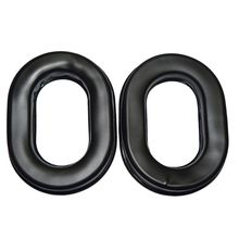 2PCS Soft Silicone Ear Pads Earmuffs Replacement Cushion Kit for Defenders Protection