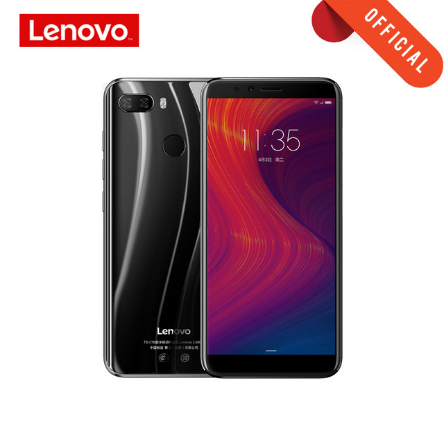 Versión Global Lenovo K5 Play 3GB 32GB 18:9 Pantalla completa identificación de huellas dactilares 13MP Cámara Dual 5,7 pulgadas teléfono inteligente Snapdragon 430 celular