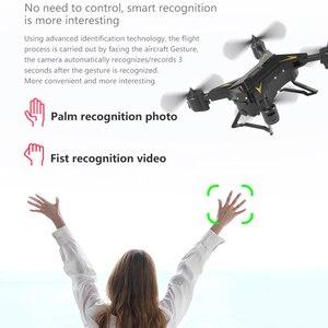 Image 5 - KY601G طوي الطائرة بدون طيار مصباح ليد ذكي واي فاي 4K كاميرا التحكم عن بعد المزدوج لتحديد المواقع FPV أجهزة الاستقبال عن بعد الطائرات لعب طفل