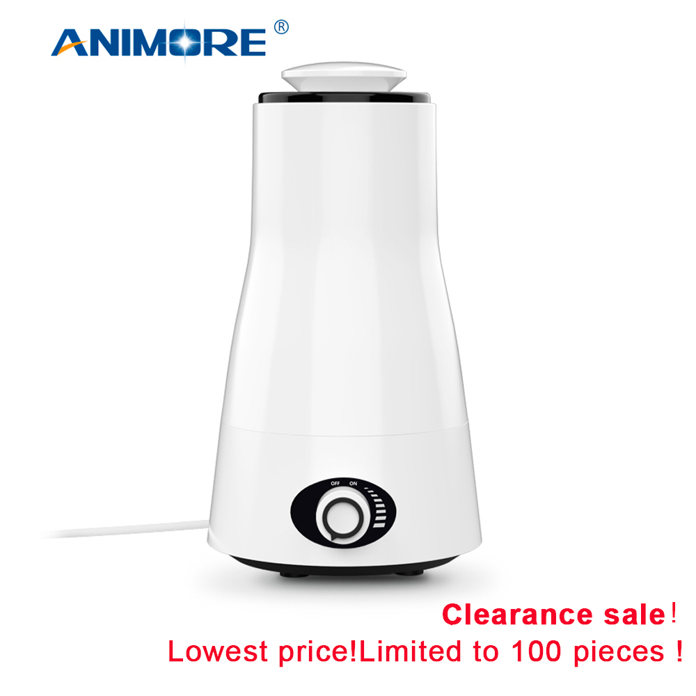 ANIMORE 2.5L Aroma Ultrasonic Humidifier Essent Oil Diffuse 110-240V LED Light Humidifier Essential Oil Diffuser Air Humidifier