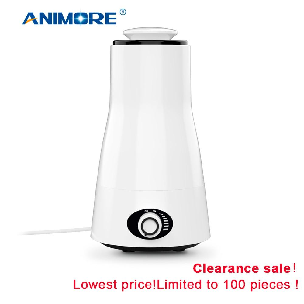 ANIMORE 2.5L Ultrasonic Aroma Umidificador Essent Óleo Difusa 110-240V LEVOU Luz Umidificador Óleo Essencial Difusor Umidificador de Ar